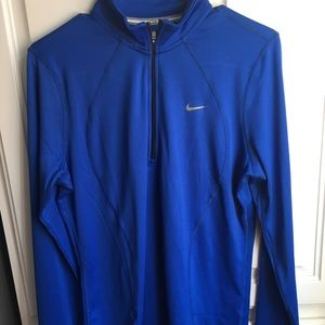 Nike running royal blue long sleeve